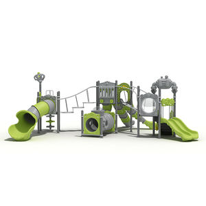 Bright color kids outdoor play structures backyard playground sets outdoor creative playground equipment