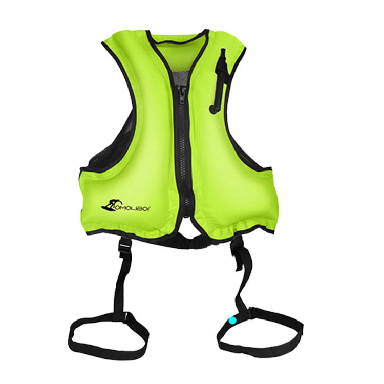 Automatic/manual pfd saving jacket kids marine life self adult swim inflatable jacket