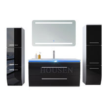 Modern bathroom vanity 48 inches bathroom cabinets and wash basin for toilets