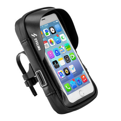 Bike Front Frame Cycling Waterproof Top Mobile Phone Touch Screen Holder Bag