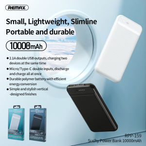 Remax 2020 latest Suchy Series 10000mAh 2USB Power Bank