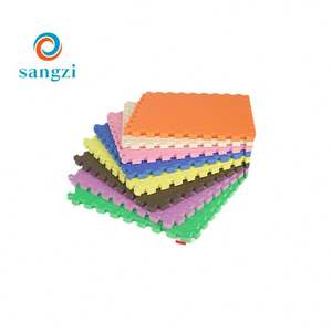 Washable Coloring Floor Mat High Quality Rubber Floor Mat EVA Interlocking Foam Tatami Mats