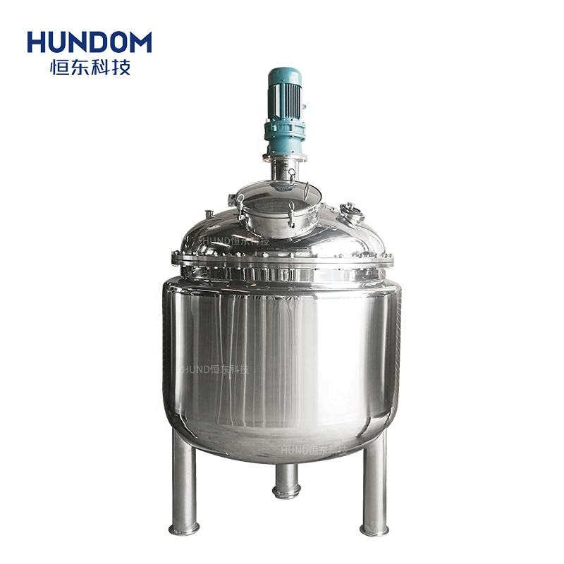 500L Double layer juice mixer machine peanut butter /yogurt /molasses /slurry mixing tank