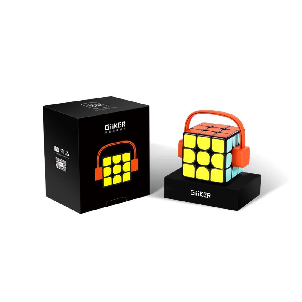 2019 Versi Asli Panas Xiaomi Giiker Super Kubus Rubik I3S Smart Magic Magnetic Bluetooth APP Sync Mainan Puzzle kubus