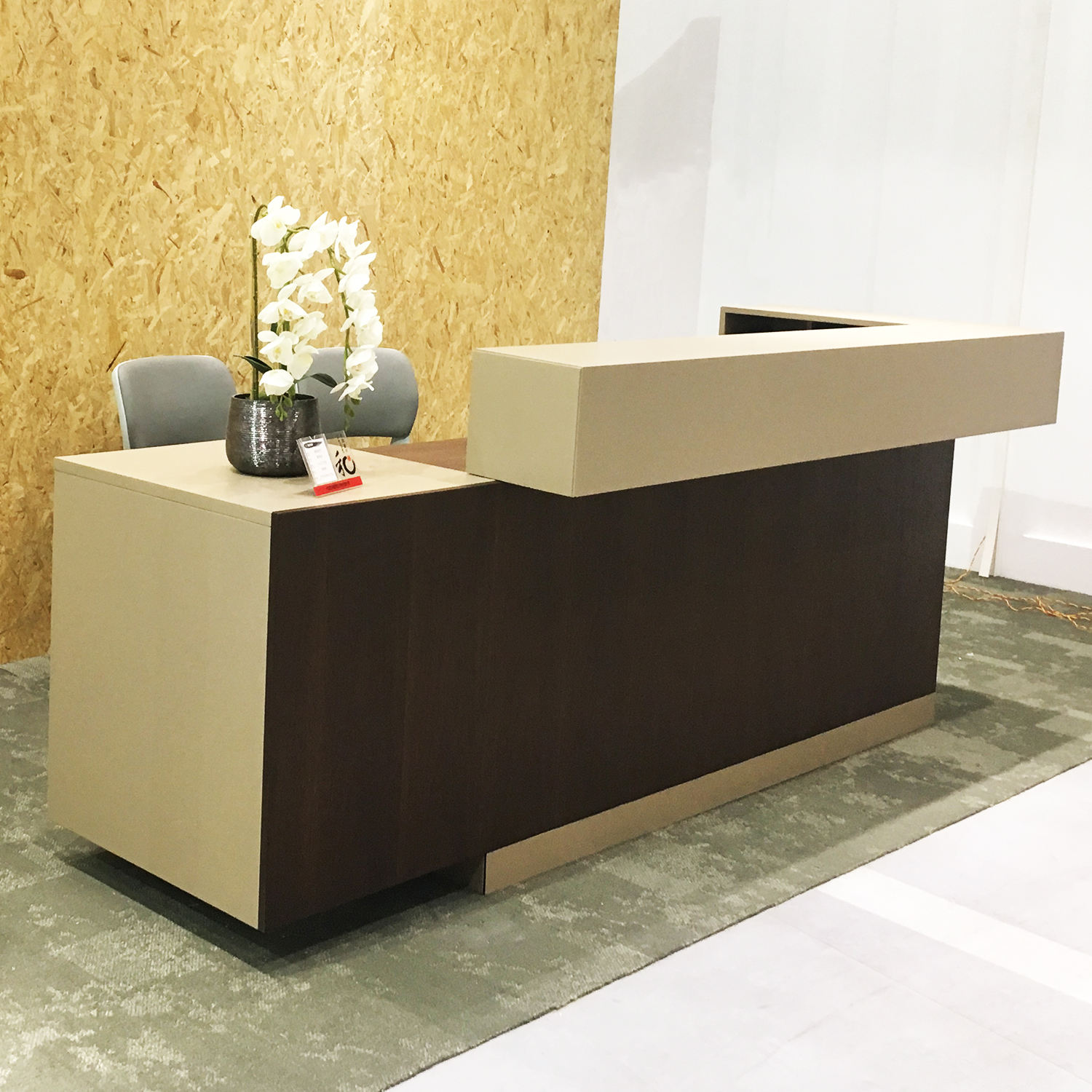 Good price office counter table office furniture design receptionist desk