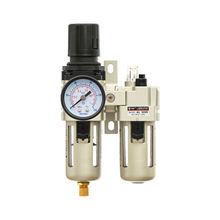XMC AC3010-03 Pneumatic tool Air Source Treatment Air Control Unit Filter Regulator Lubricator FRL with Gauge