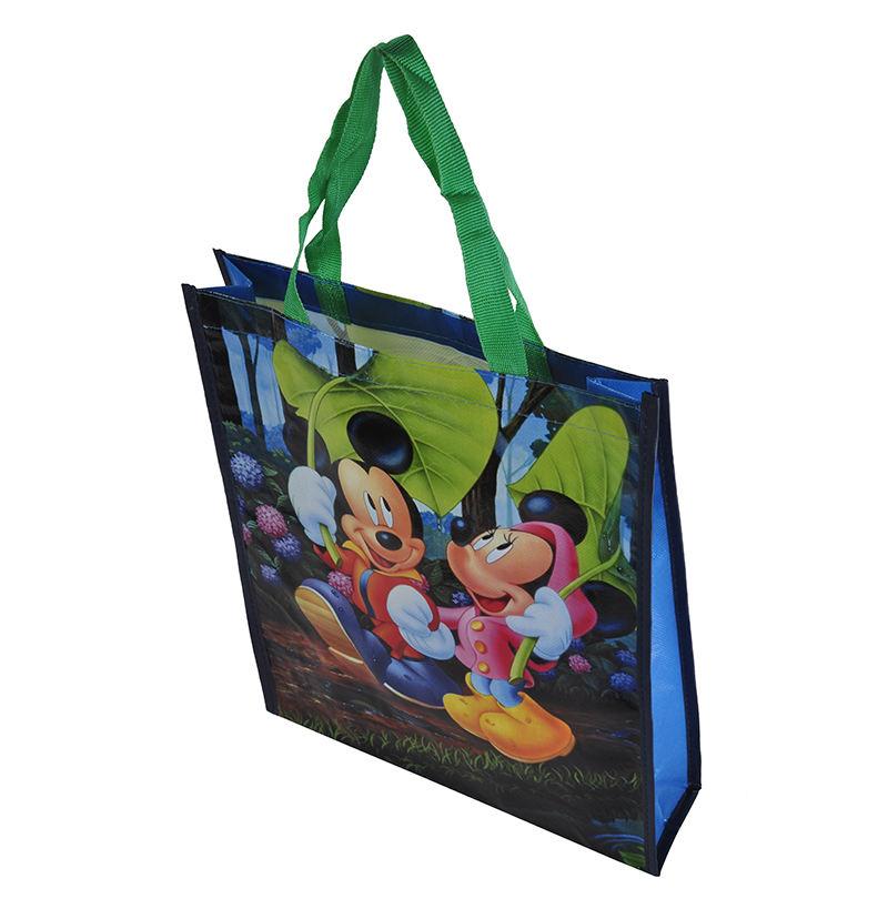 Anime Character Children Non-Woven Environmental Drawstring Bag Gift