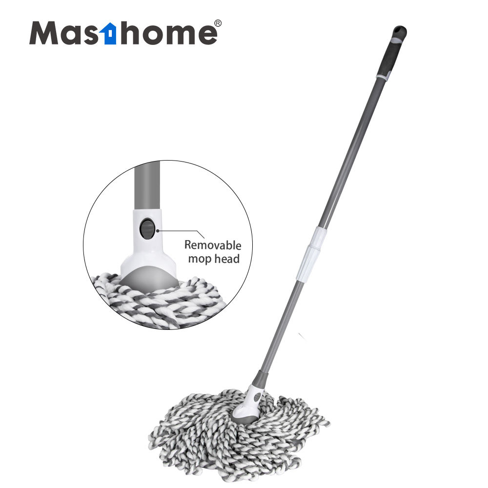 Masthome 2020's newly Customizable microfiber kitchen cloth mop magic cleaning cotton mop for housework