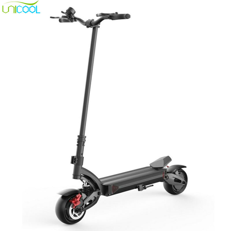 Ce smart double suspension dual motor 1600w 52v 65-70km range adult smart mobility electric foot kick scooter