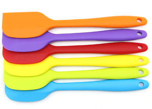 2020 Small heat-resistant butter spatula kitchen cake baking tool  silicone spatula set
