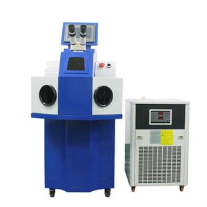 New price external chiller type jewelry laser welder welding machine for gold silver perfect new design