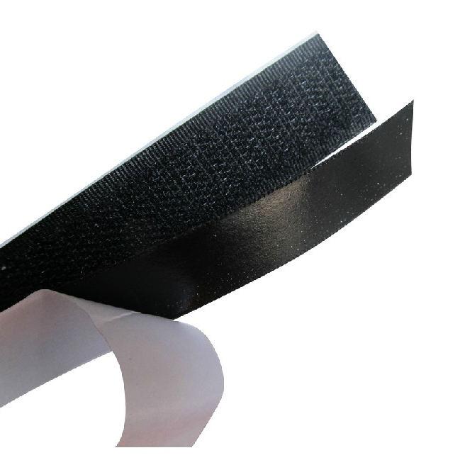 % 100% Naylon ağır hizmet özel yapışkan kendinden yapışkanlı İnce arka yapıştırılmış mantar cırt cırt nokta/bant/kayış/rulo
