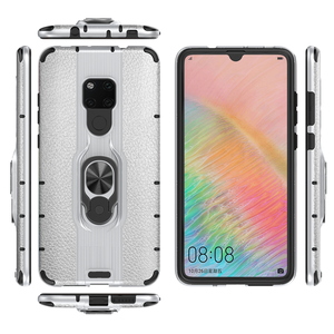 Armor ring Houder Voor Huawei mate 20 Dual layer TPU PC Telefoon Back Cover Voor huawei mate20