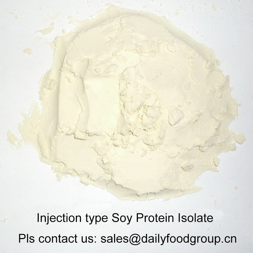 Injection type Soy Protein Isolate Primarily Used in Sandwich, Pure Meat Ham and Bacon