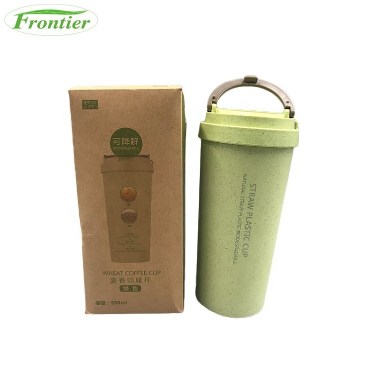 Indoor Jumbo Biodegradable Wheat Fiber Coffee Mugs For Office Home
