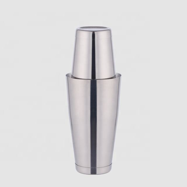 Factory Direct stainless steel 28oz boston shaker
