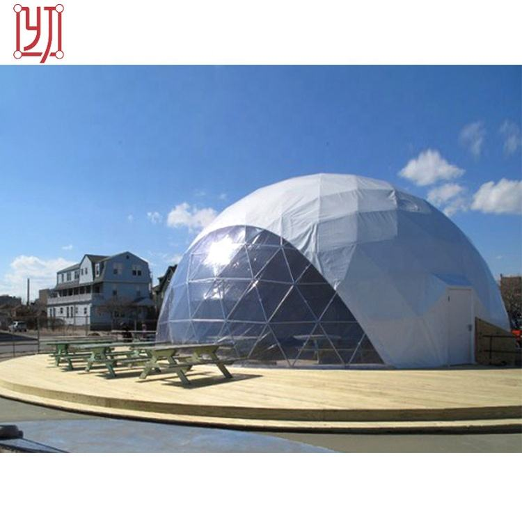 Factory price/best price function tent design big clear top dome house for wedding parties Made In China