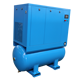 All-in-one 5.5KW 7.5kw 11KW 15KW integrated screw air compressor with dryer and 500 liter tank