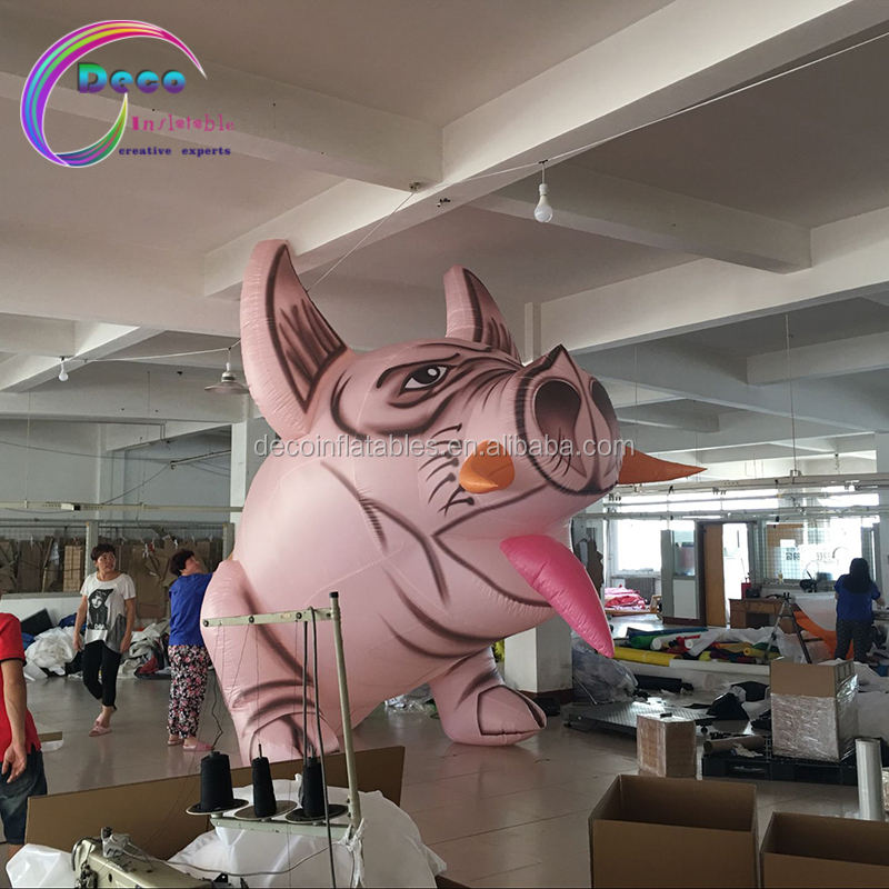 Best design inflatable pig costume, inflatable cartoon costume, inflatable mascot costume for sale