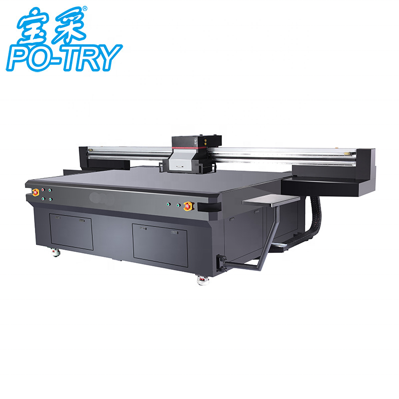 Inkjet Large Format flatbed uv printer for Glass Wood Acrylic