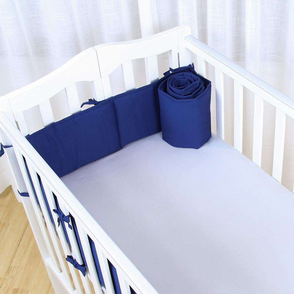 Baby breathable crib bumper pads set for standard cribs