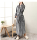 Bathrobe Hot Sale VERY SOFT 100% Microfiber Flannel Bathrobe