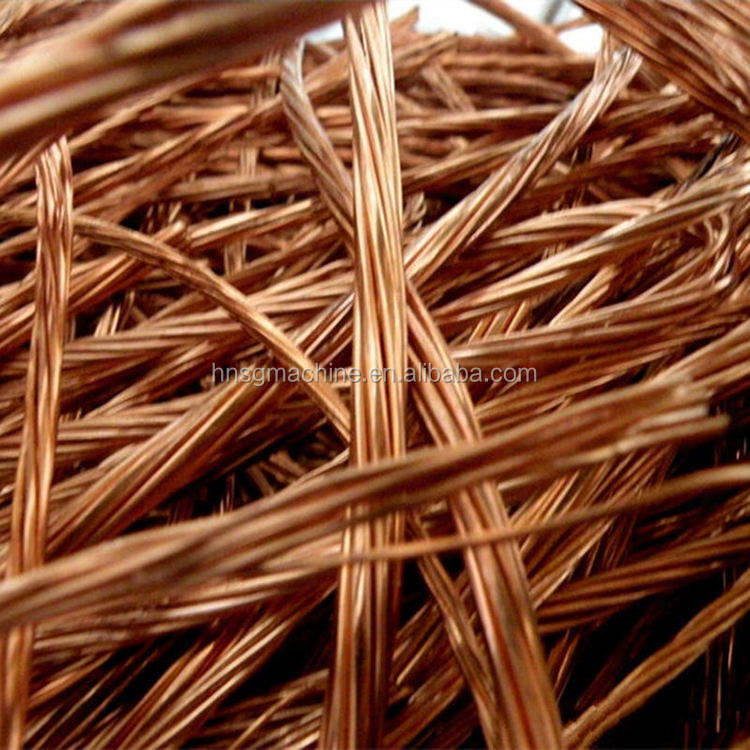 Copper wire recycling scrap machine price cost winding wire