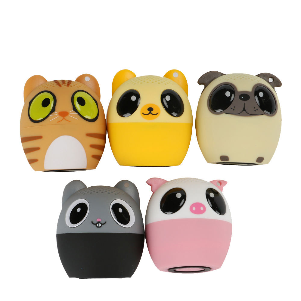 Mini Portable Speaker Animal Panda Wireless Bluetooth Speaker Subwoofer Audio Cute Pet Smart Speaker