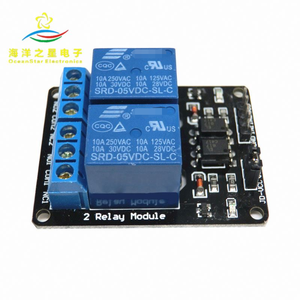 2 Saluran Modul 2-Way Relay Expansion Board 5V 12V dengan Optocoupler Isolasi Perlindungan MCU Development papan
