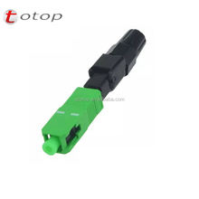 SC APC / SC UPC fast connector fiber optic fast quick connector ftth