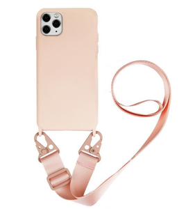 LC1A Custom Luxury Designer Cross Body Neck Lace Lanyard Nech Strap Silicone Tpu Smart Cell I Xr Mobile Phone Case Wallet