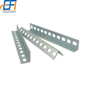 China Manufacturer Slotted Equal Angle Steel S235Jr Universal Angle Steel