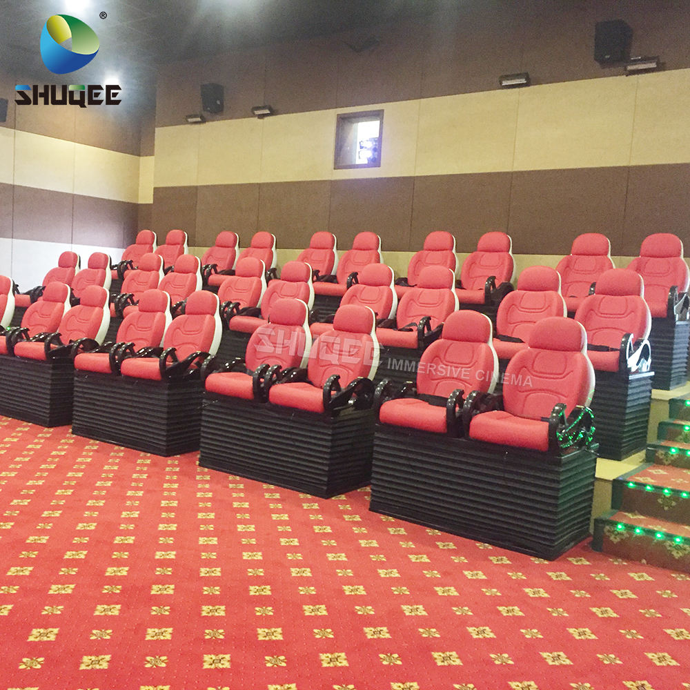 Indoor eletronic ride simulator 5D theatre other amusement park products