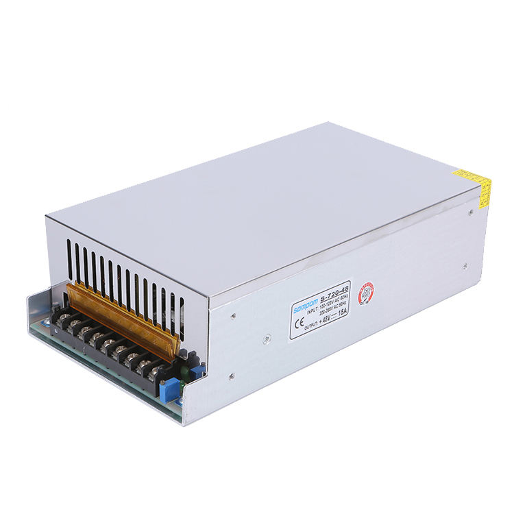 0-720Watt Sompom switch power dc 12.5a power supply led 48v