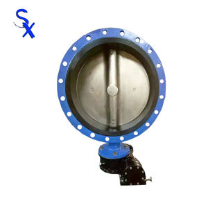 DN600 Producing Marine Steel Butterfly Valve