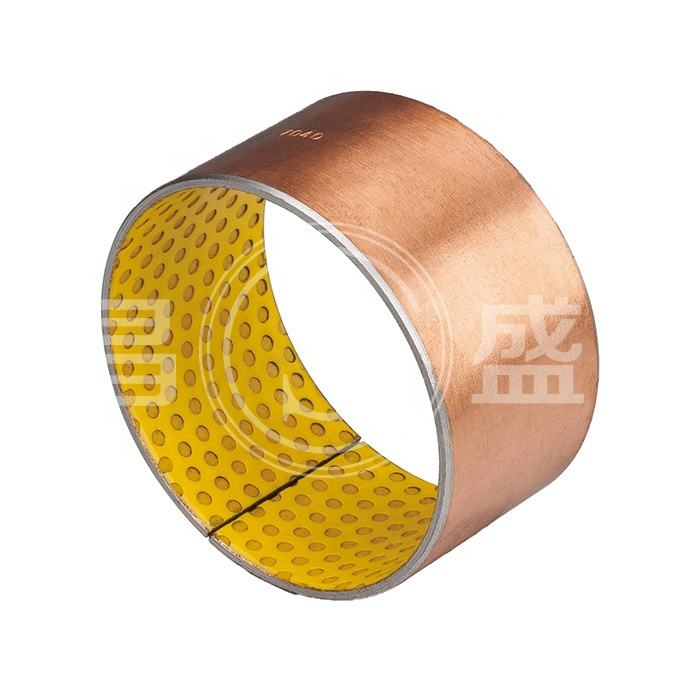 OEM Manufacturer Glacier Cylindrical Bearing SF-2 Sliding DX POM Steel Backing Bushings