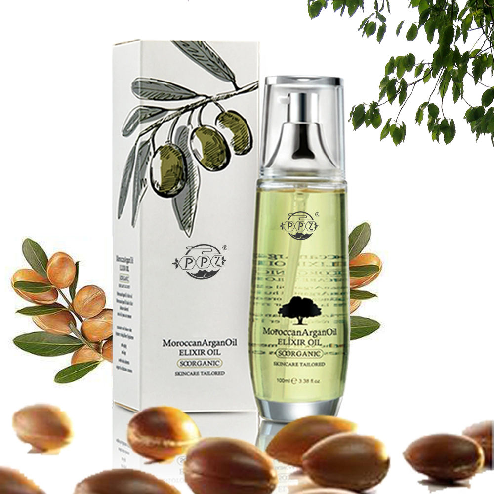 All-new organic argan oil facial and skin body soothing essential oil