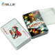 Custom Printing Sale Both Sides Personalized unoes Plastic Poker Playing Cards
