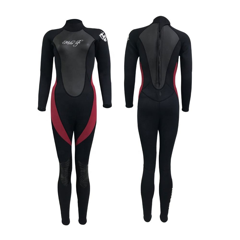 Newly Designed Diving Neoprene Fabric Woman 3mm Wetsuit
