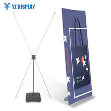 Floor High Quality 80X180 Cm X Banner Display Stand From China Supplier