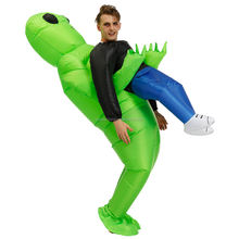 High Quality Alien Inflatable costume Sumo Dinosaur Party costumes suit Cosplay disfraz Halloween Costumes For Adult kids dress