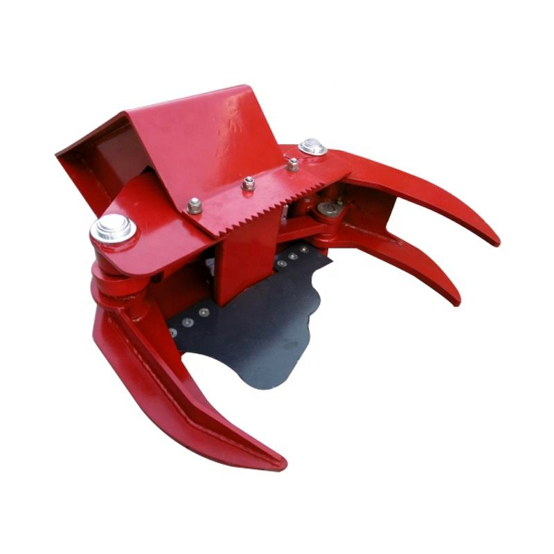 ELG 120 excavator attachment tree shear for cutting trees