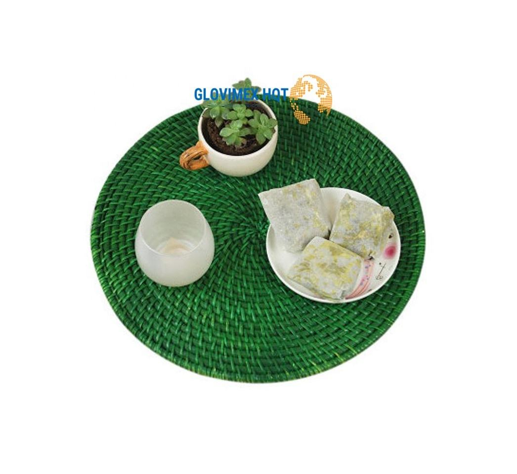 Hot Trend Weaving Mat Coaster Placemat Coaster Mat Party Tableware Coaster Hotel Buffet