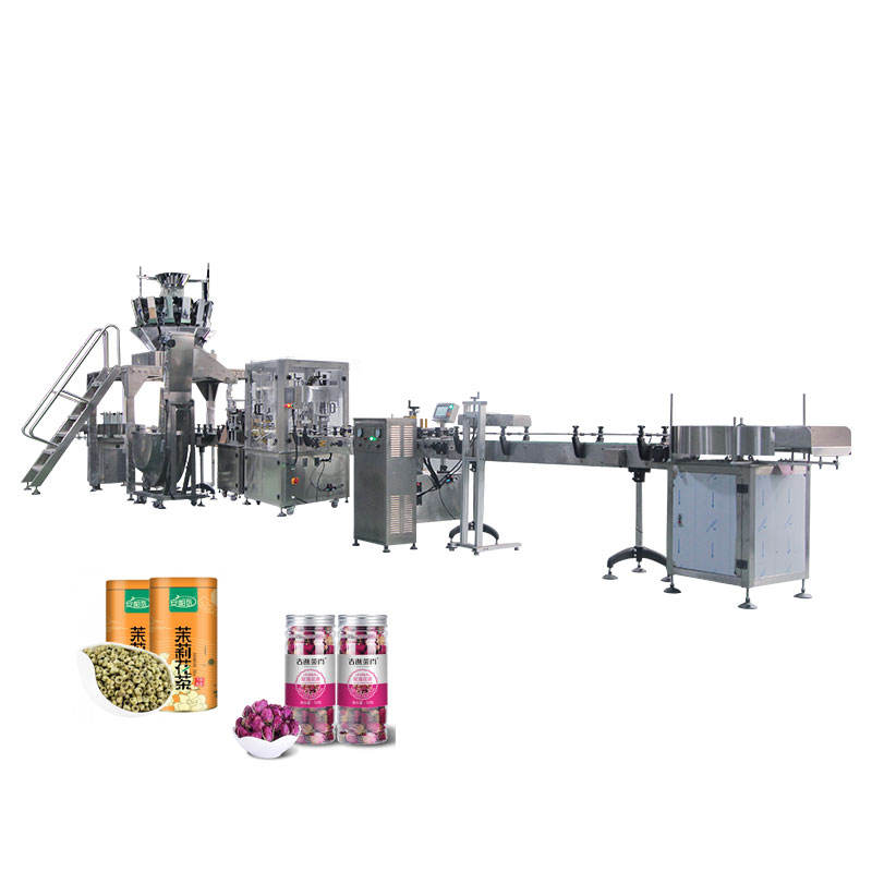 1 Year Warranty [ Herbal Line ] Herbal Medicine/Flower Scented Tea/tea Leaf Automatic Weighting Filling Production Line