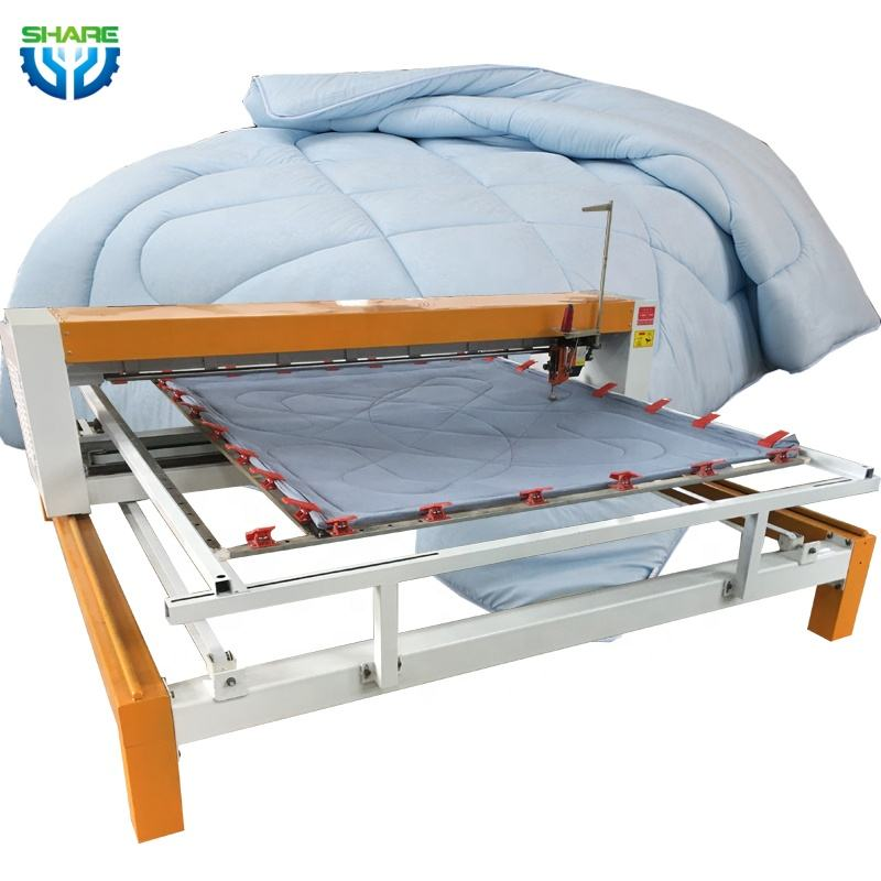 long arm Single Needle one head Quilting embroidery Machine korea Bedcover quilt Sewing mattress Quilting Making Machine price