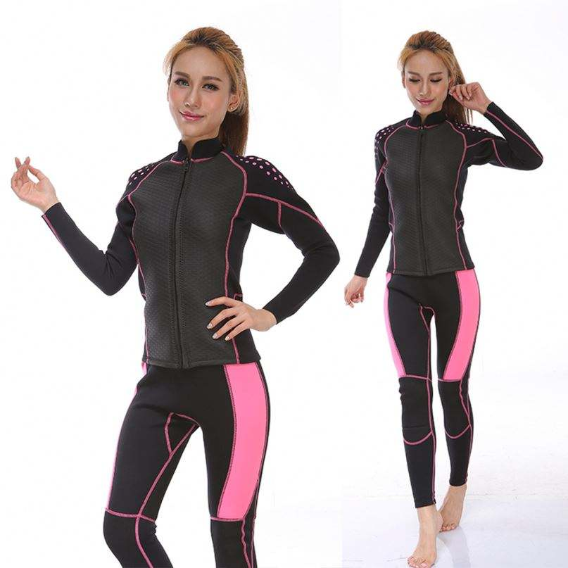 China Manufacturer Hooded 1.5mm Anti-uv Adults Neoprene Warmer Wetsuits