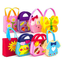 LZY772 DIY Non-Woven Fabric, Creative Animal Craft DIY Bags Handmade Sewing Toys For Kids Early Education
