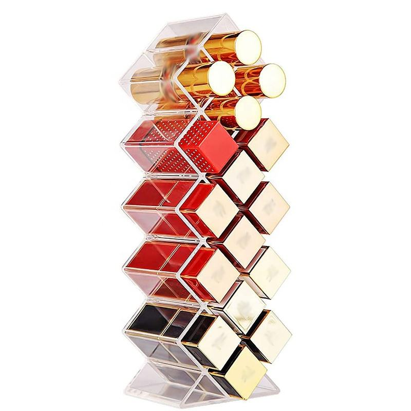 Clear Acryl Lipgloss <span class=keywords><strong>Opslag</strong></span> Houder Vis Vorm Lipstick Organizer <span class=keywords><strong>Toren</strong></span> Stand Voor 16 Lipsticks Voor Make-Up Cosmetische Vanity