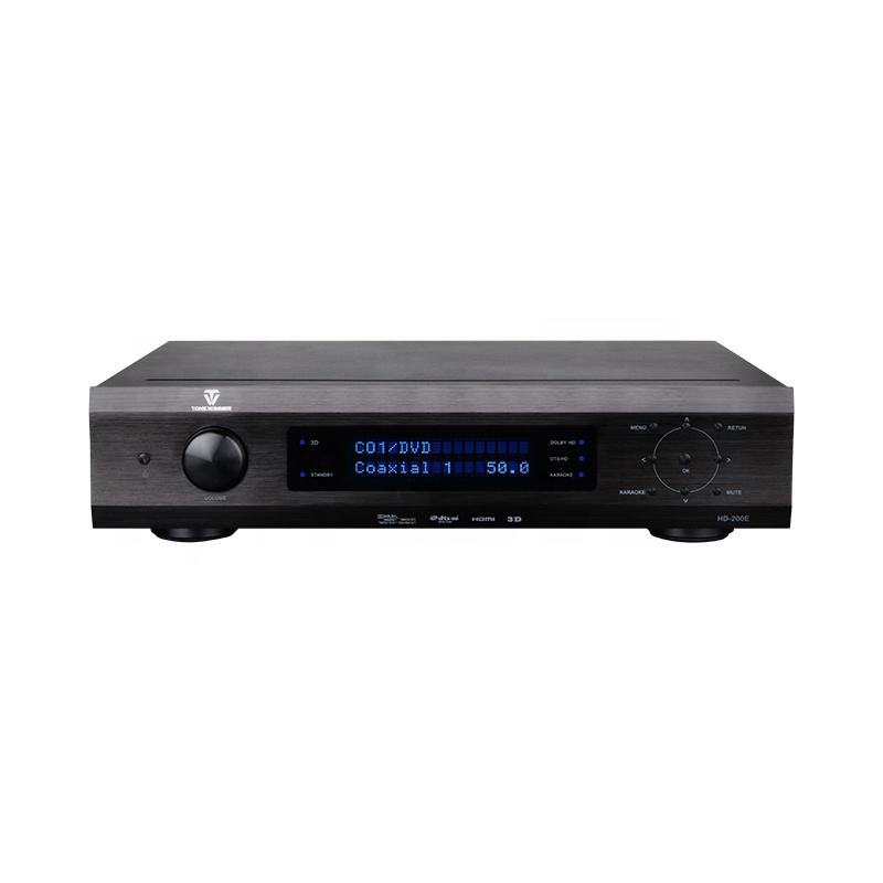 Kualitas Tinggi HD KTV Sistem Home Theater Integrated Receiver