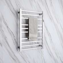 Stainless steel towel drying rack towel warmer with timer 9005ST